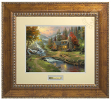 Mountain Paradise Prestige Home Art (Frame Choices)