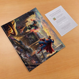 Superman - Man of Steel Art Print