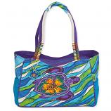 Hibiscus Turtle Medium Bag