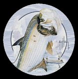 Tarpon & Boat Coaster Set