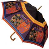 Feline Family Stick Umbrella