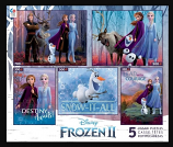Frozen II 5 in 1 Puzzle Set