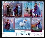 Frozen II 5 in 1 Puzzle Set