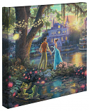Princess and the Frog Canvas Wrap