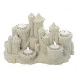 Sand Castle Candle Holder