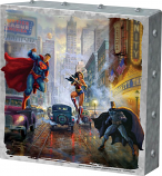Batman, Superman and Wonder Woman Metal Art Box