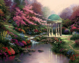 Pools of Serenity Painting