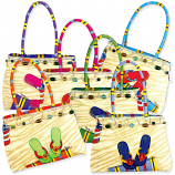 Barefoot on the Beach Medium Bags - 6 Colors