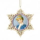 Princess Cinderella Snowflake Ornament