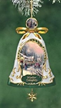 Winter Delights Porcelain Bell Ornament