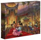 "Mickey & Minnie In Hollywood 8""x10""Gallery Wrap"