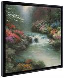 """Beside Still Waters Framed Canvas Wrap 20""""x20"""""""