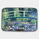Water Lily Pond & Japanese Bridge Armored Wallet