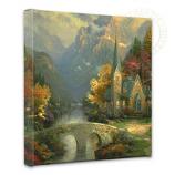 The Mountain Chapel Canvas Wrap 14x14