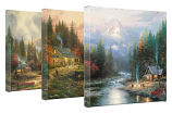 End of a Perfect Day Canvas Wrap - Set of 3