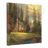 "A Peaceful Retreat 14""x14"" Gallery Wrap"