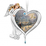 Heartfelt Joy Blessing Angel Ornament