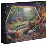 "Snow White & the Seven Dwarfs 8""x10"" Gallery Wrap"