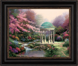 Pools of Serenity Brushstroke Vignette (Framed Choices)