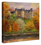 Biltmore in the Fall Canvas Wrap 14x14