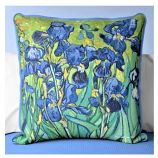 Irises Pillow