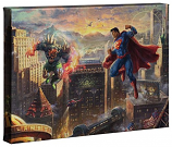 Superman - Man of Steel Canvas Wrap