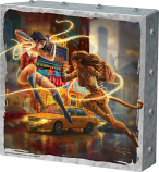 The Women of DC Metal Art Box