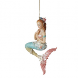 Green Tail Mermaid Ornament
