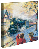 """All Aboard for Christmas 14""""x14"""" Canvas Wrap"""