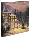 "Christmas at the Ahwahnee Canvas Wrap 20""x20"""