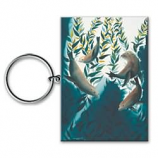 Sea Lion Kelp Forest Keychain
