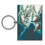 Sea Lion Kelp Forest Keychain