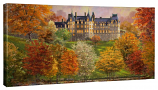 Biltmore in the Fall Panoramic Canvas Wrap