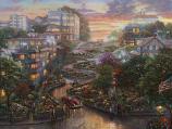 San Francisco Lombard Street II Painting