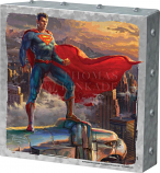 Superman Protector of Metropolis Metal Art Box