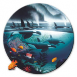 Orca Journey Pin