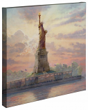"Dedicated to Liberty Canvas Wrap 20""x20"""