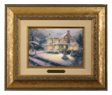 Victorian Christmas III Brushwork (Frame Choices)