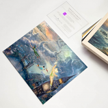 Tinker Bell & Peter Pan Fly to Neverland Art Print