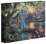 "Princess and the Frog 8""x10"" Gallery Wrap"
