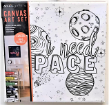 I Need Space Canvas Paint Kit