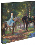 Romance Awakens Cinderella Canvas Wrap