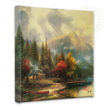 End of a Perfect Day III Canvas Wrap