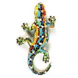Mosaic Gecko Figurine