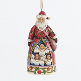 Hark the Hearld Santa Ornament