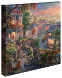 Lady and the Tramp Canvas Wrap