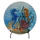 Seahorse Art Bowl