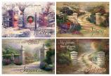 Set of 4 Seasons Gates Wood Signs