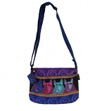 Canine Tribe Medium Crossbody Bag