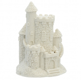 "Vertical White Sand Castle (4"" High)"